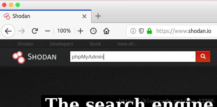 phpMyAdmin 通用密码漏洞