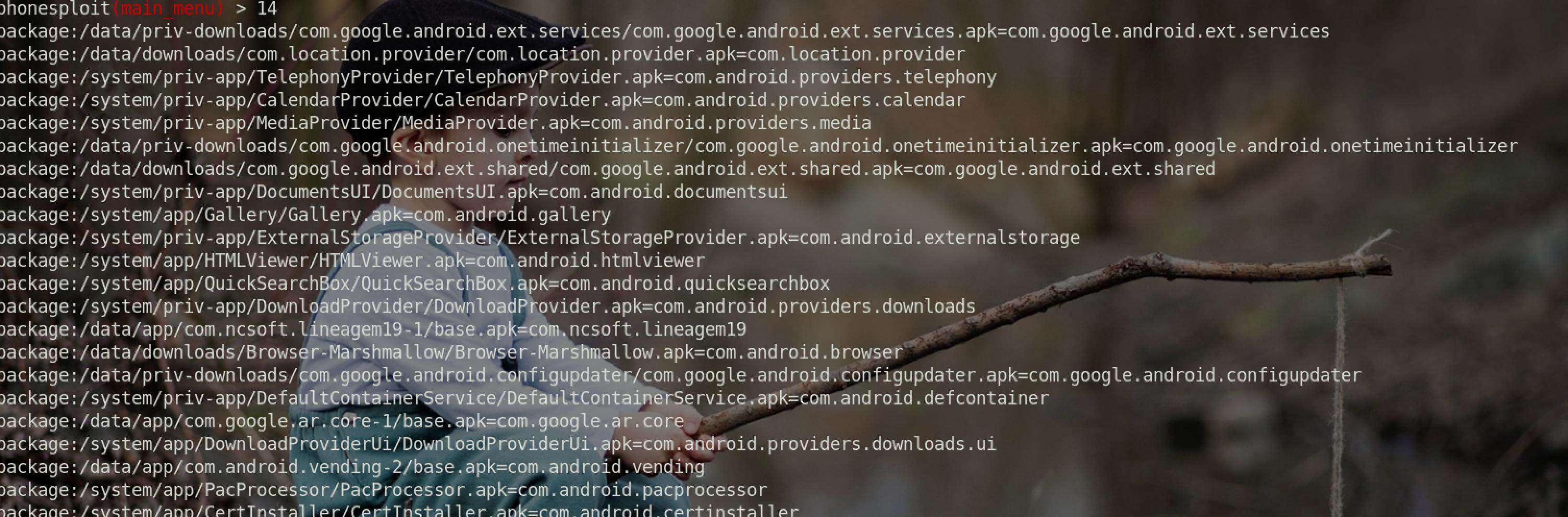 Android设备调式模式利用